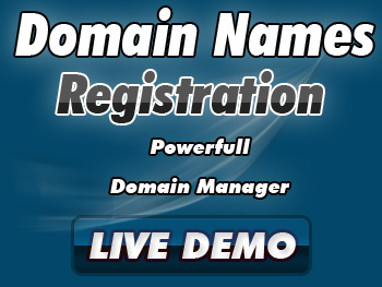 Half-priced domain registration services
